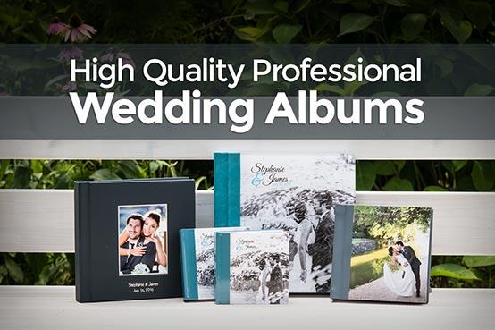 High Quality Professional Wedding Albums