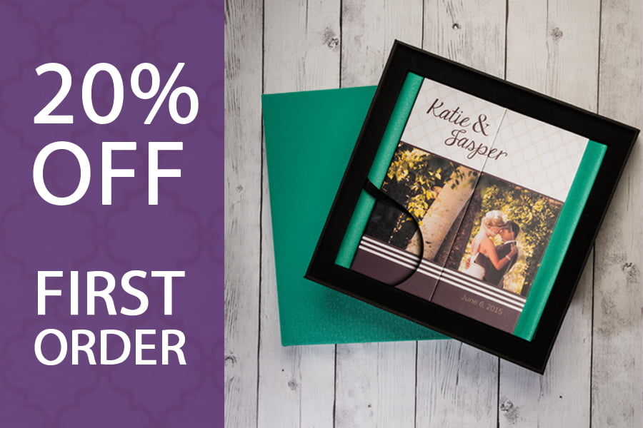 20% off Photo Albums