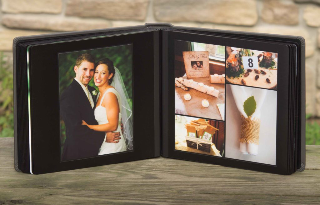 Hand Crafted Wedding Album Matted Albums Zookbinders