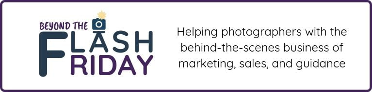 Beyond Flash Friday | For Wedding Photographers and Marketing