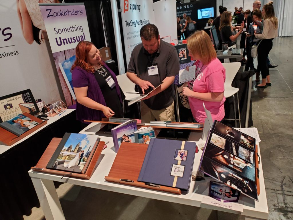 Zookbinders Booth at WMBA 2019