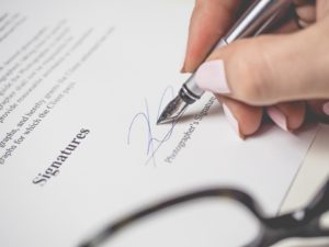 Make sure you review the contract signed by you and your client carefully