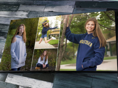 A Senior Album with Images by Maureen T. Miller Photography