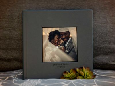 Lustre Book With Cameo