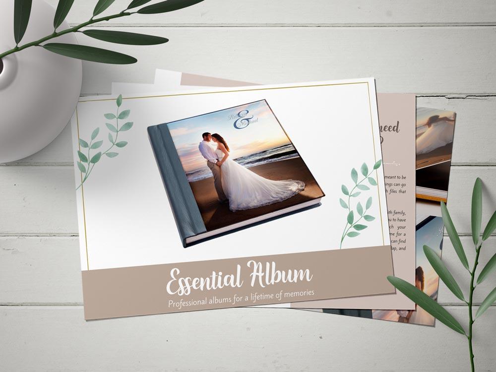 album brochure